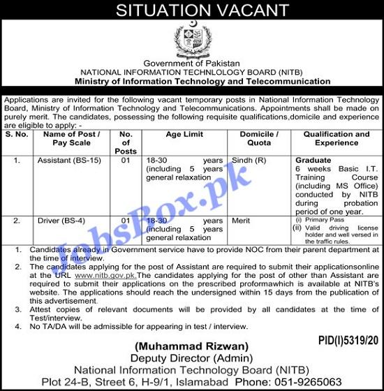 nitb-jobs-2021-apply-online-via-www-nitb-gov-pk