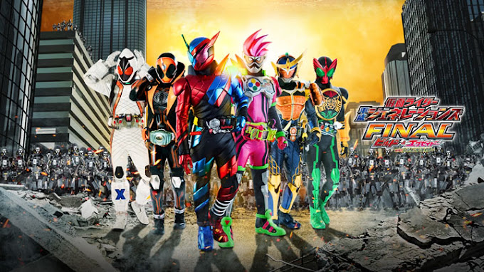Kamen Rider Heisei Generations Final: Build & Ex-Aid With Legend Rider Subtitle Indonesia