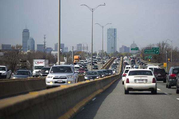 Giao thông tại Thành phố Boston, Mỹ.