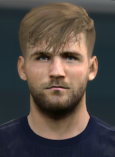 PES 2017 Faces Luke Shaw by Alief
