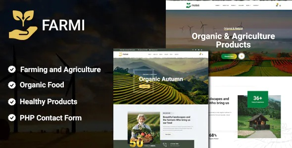 Best Organic Farm Agriculture Template