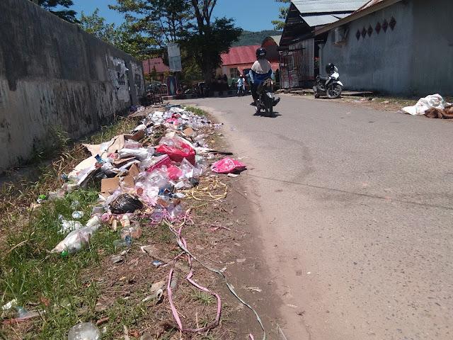 Menuju adipura ditengah tumpukan sampah menggunung di Tolitoli