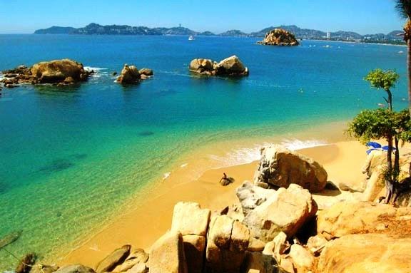 Praia Condesa em Acapulco