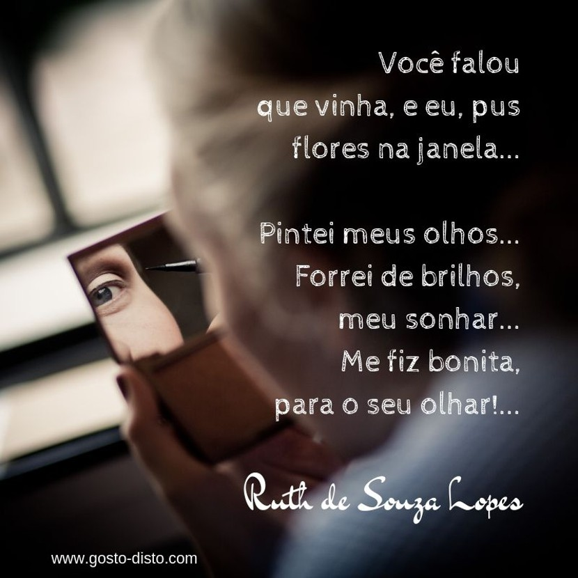 Poema de Ruth de Souza Lopes