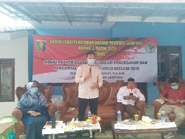 Anggota DPRD Lampung Turun ke Dapil Cegah Penularan Virus Covid-19
