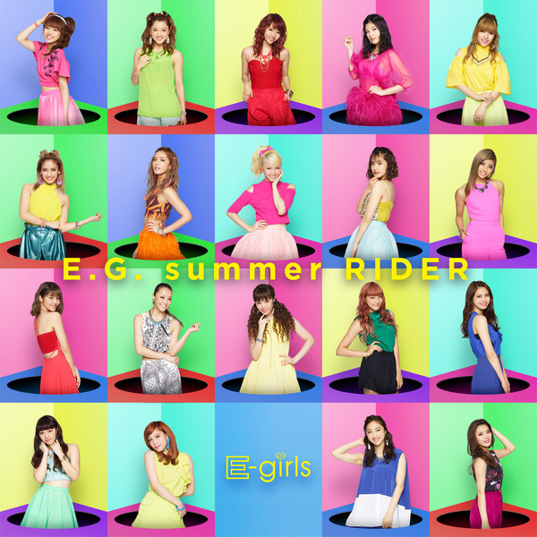[Single] E-girls – E.G. summer RIDER (2016.07.20/MP3/RAR)