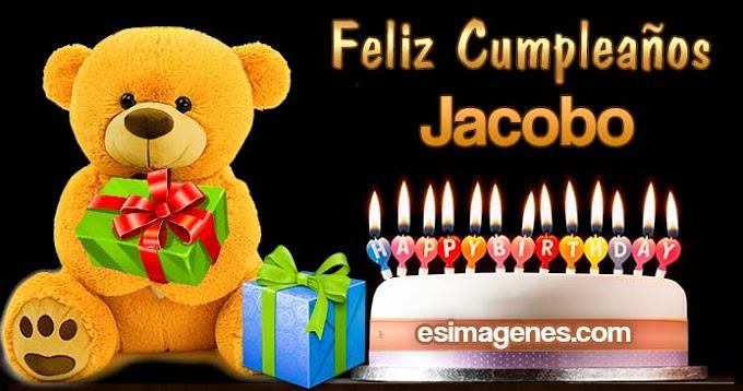 Feliz cumpleaños Jacobo