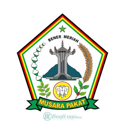 Kabupaten Bener Meriah Logo Vector
