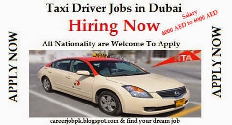 Taxi Driver Required for Dubai 2016 for all Nationality