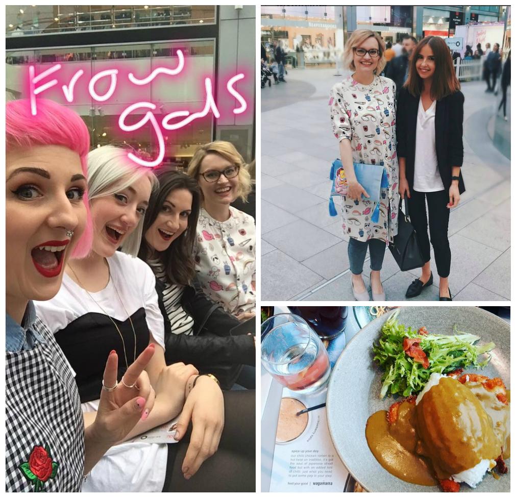 Scottish Bloggers, front row fashion, The Centre Livingston, Honeypop Kisses, Urbanity Blog, Tartan Brunette,  Coco Made Her Do It, Wagamama
