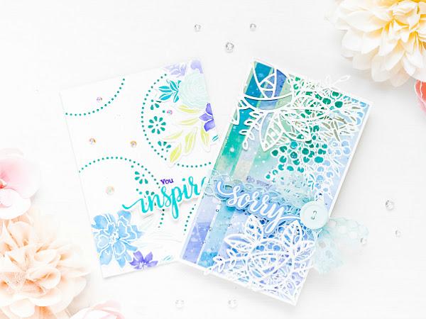 Pinkfresh Studio -  Simple and Layered Card Designs