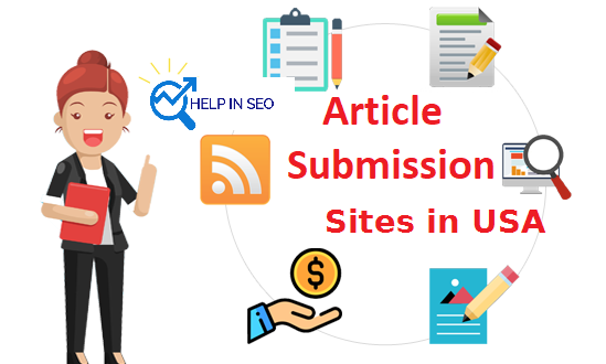 Top 50+ Article Submission Sites for USA