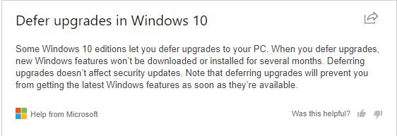 Cara mematikan update otomatis windows 10, cara mengaktifkan defer pada windows 10