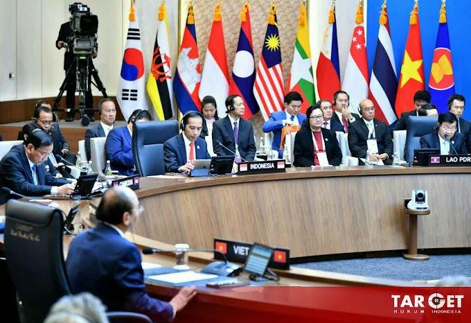 Presiden Joko Widodo Dorong Kerjasama Hard dan Soft Connectivity ASEAN - KOREA