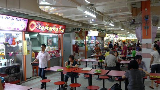 paket liburan murah ke China Town Complex Food Center