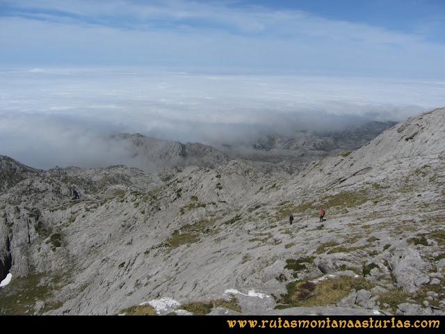 Mirador de Ordiales y Cotalba: Bajando del Cotalba