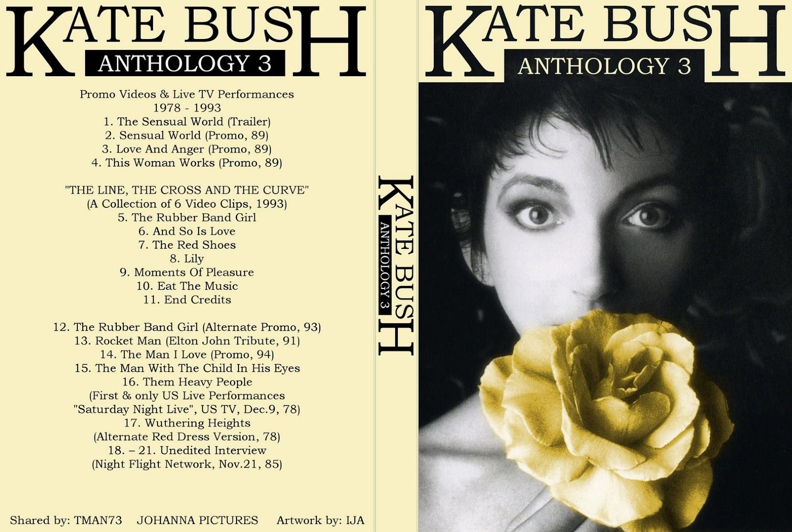 Amy Winehouse Nua t.u.b.e.: kate bush - anthology vol. 3 (dvdfull pro-shot)