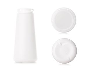 White wholesale plastic salt bottles - 3plastics
