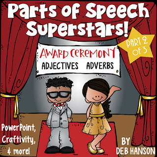 Adjectives and Adverbs PowerPoint, Craftivity, and more!