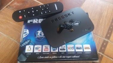 FREESKY MAXX2 IPTV NOVA ATUALIZAÇÃO V1.34 - 04/09/2020