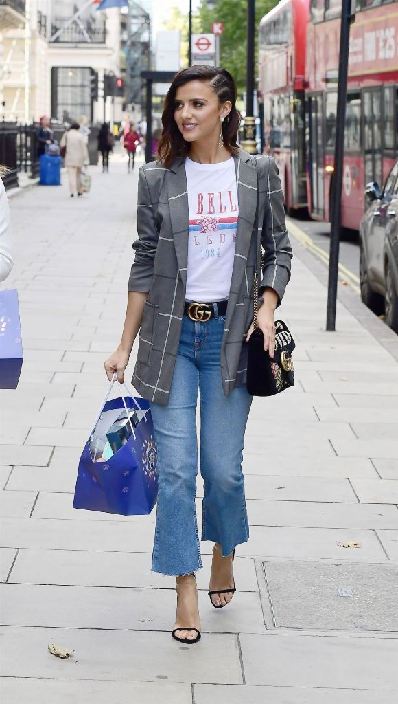 Lucy Mecklenburgh Casual Style in London