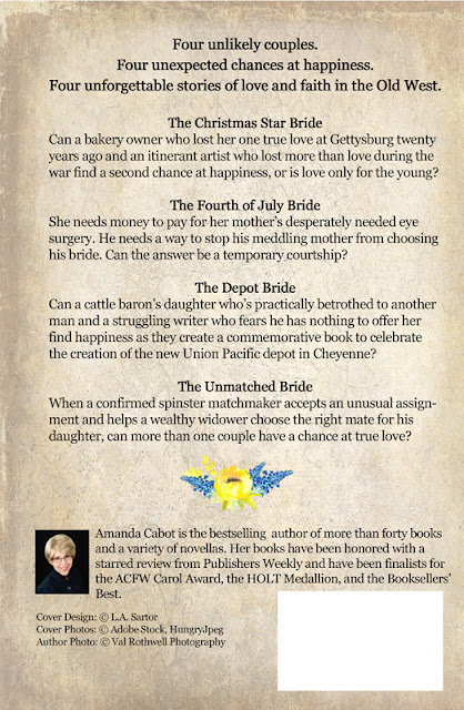 First Back Cover - Brides of the Old West