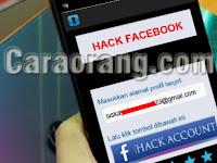 Cara Hack Facebook Lewat Hp Android Dengan Aplikasi