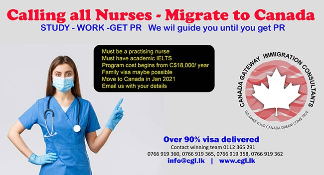 cgl.lk - Canada Gateway Lawyers | Calling all Nurses Migrate to Canada.