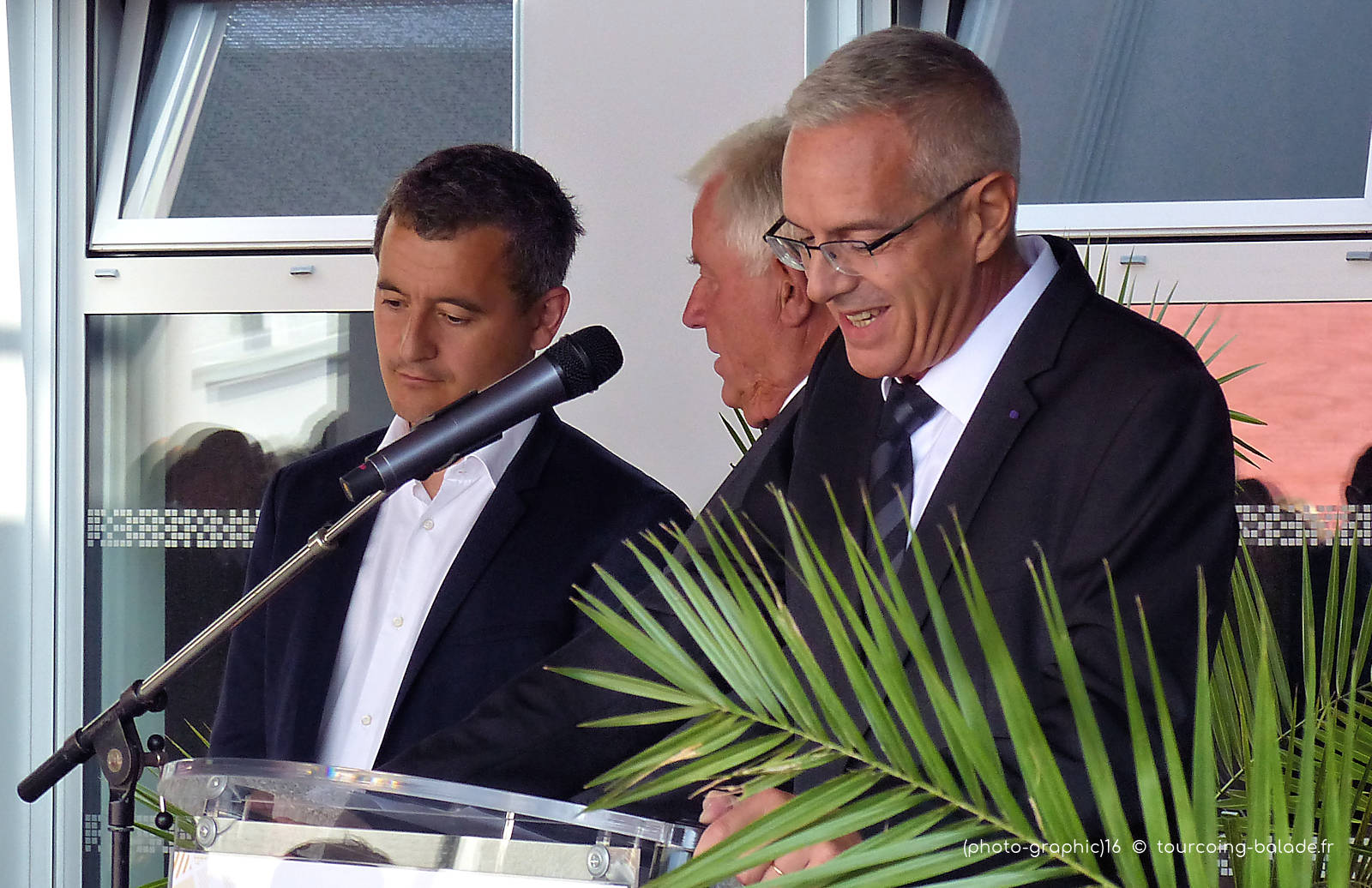 Jean-Yves Bessol - Inauguration École de Gaulle, Tourcoing, août 2019