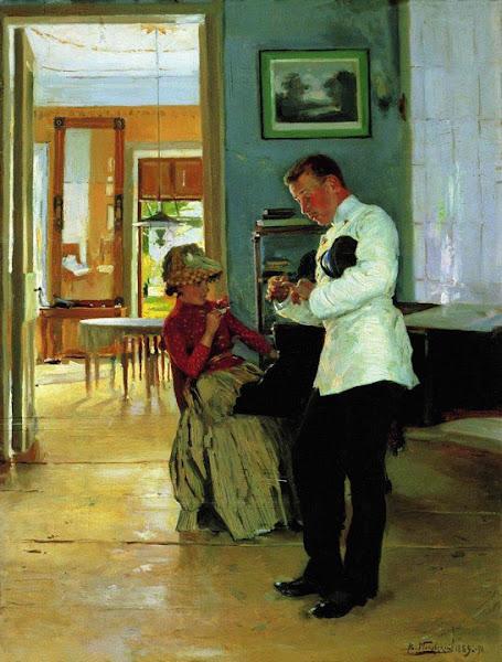 Маковский Владимир Егорович - Объяснение. 1891