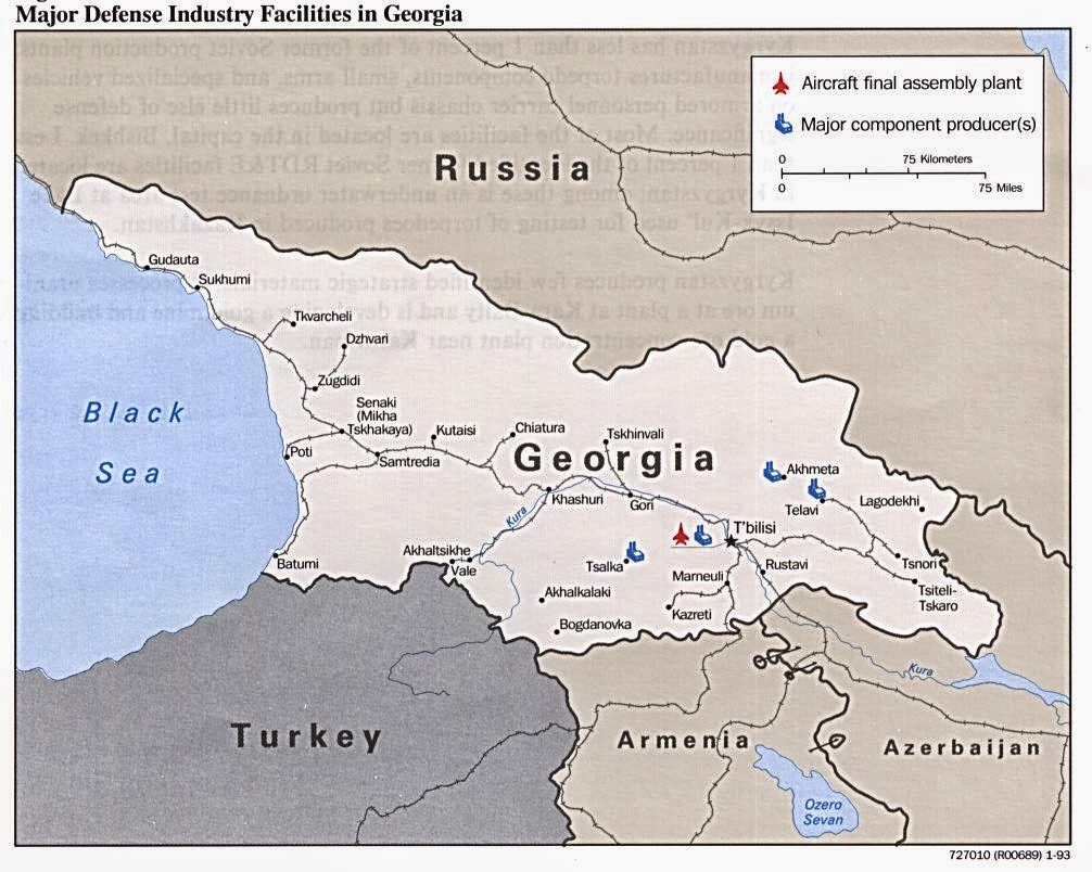 Map Of Georgia In Eastern Europe.Info About Georgia Info About Georgia