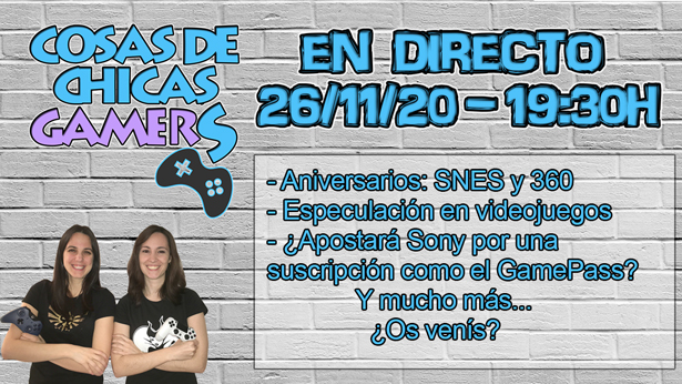 Directo chicas gamers 26/11/2020