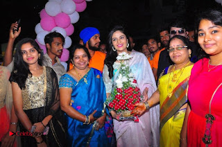 Sreemukhi Launches Manvis Saloon  0045.jpg