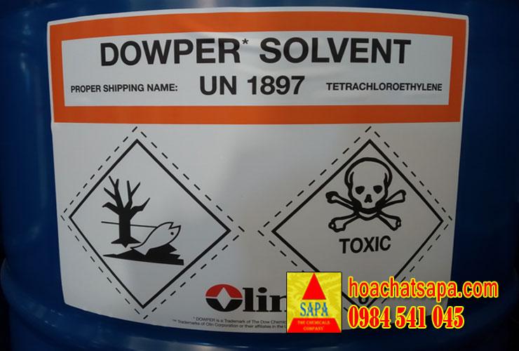 Dung môi giặt khô Dowper Solvent mới nhất 2019