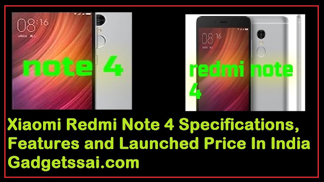 Red mi Note 4 Price