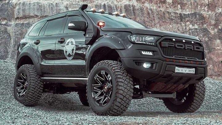 Ford Everest độ hầm hố theo phong cách Off-road