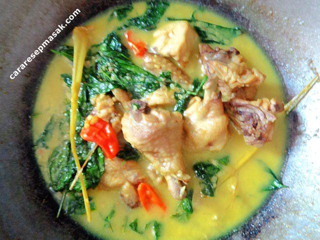Resep Masak Opor Ayam Enak Nikmat