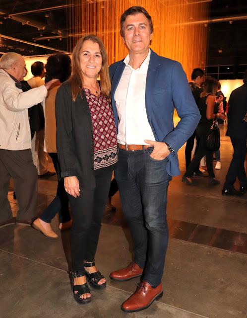Gabriel Corrado y Constanza Feraud