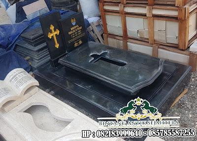 Makam Granit Kristen | Model Kuburan Granit