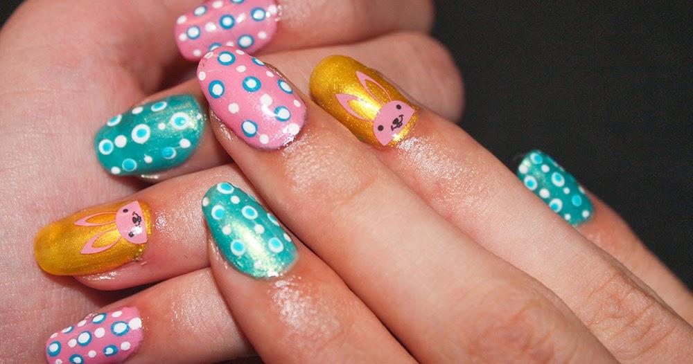 DeeNails: Beginner east nail art