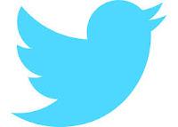 Logo de Twitter. Pájaro azul con fondo blanco