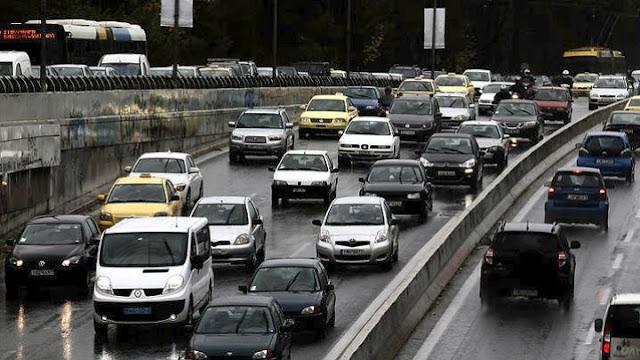 Κλειστή η εθνική οδός από Ελευσίνα έως τον Ισθμό