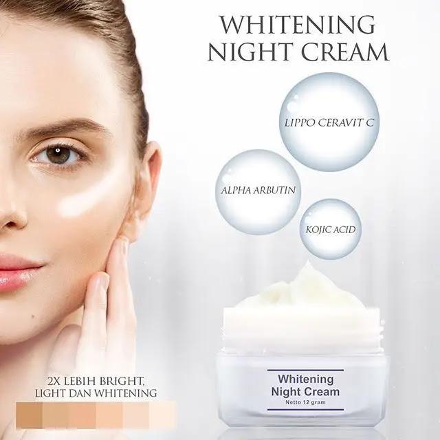 Cream Malam Ms Glow Whitening