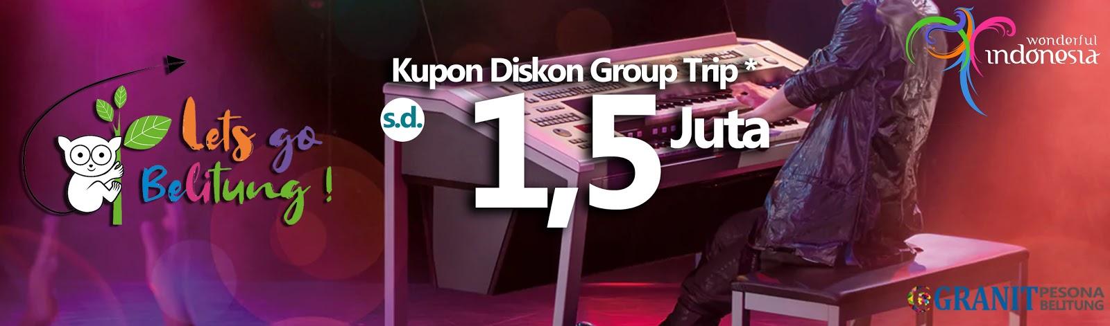Promo Diskon Group Outing Tour ke Belitung