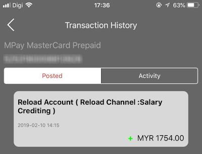 BUKTI PENGELUARAN Mpay e-wallet HMG2U