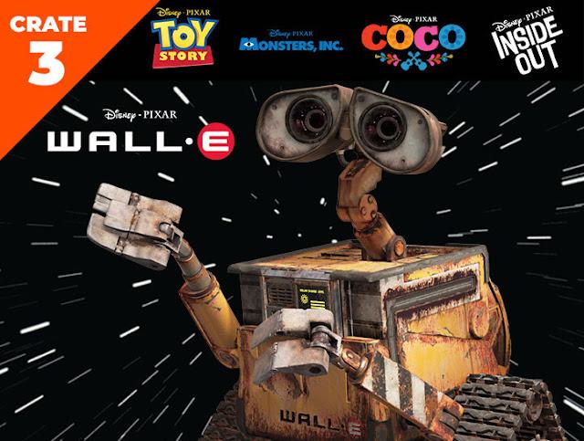 Pixar Loot Create 3 Wall-E