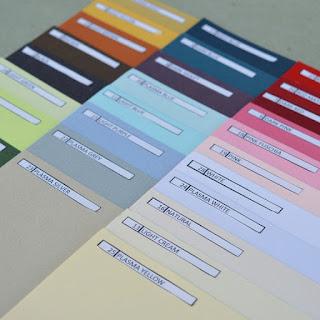 Pilihan Warna Kertas Jasmine Karton