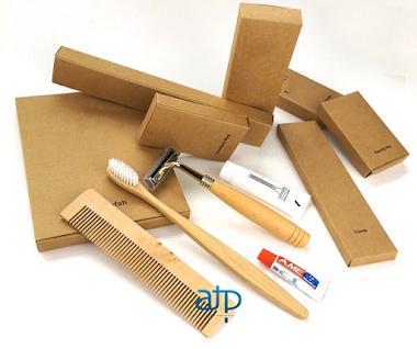Bao bì amenities - Hộp giấy Kraft (2)