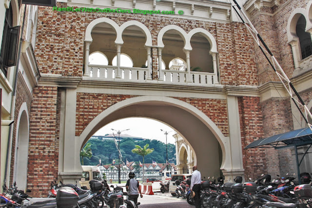 Moroccan arches, Sultan Abdul Samad Building, KL Historic City Centre, KL, Malaysia