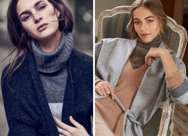 Кардиганы и свитера из кашемира